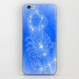 Scorpio, constellation series iPhone Skin