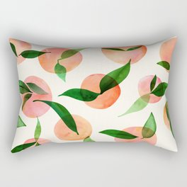 Summer Fruit Pattern Rectangular Pillow