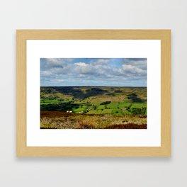 A Sheep's Life Framed Art Print