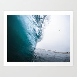 Beautiful Wave Crash Art Print