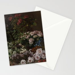 Claude Monet - Spring Flowers.jpg Stationery Cards
