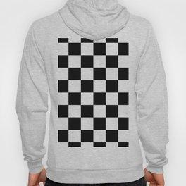Check (Black & White Pattern) Hoody