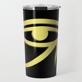 Eye of horus Egyptian symbol Travel Mug