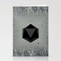 xbox Stationery Cards featuring City Intruder by Zavu