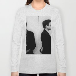 Johnny Cash Mug Shot Music lover Fan mugshot Long Sleeve T-shirt