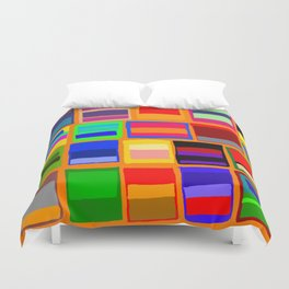 Rothkoesque Duvet Cover