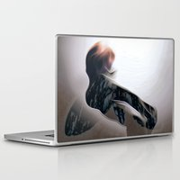 moth Laptop & iPad Skins featuring Moth by Stephen Linhart