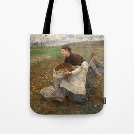October by Jules Bastien-LePage Tote Bag