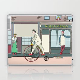 Steampunk Penny-Farthing Velocipedes Laptop & iPad Skin
