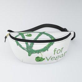 V for Vegan Fanny Pack