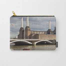 Battersea Power Station with Pink Floyd Pig Carry-All Pouch