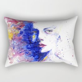 Colourful painting of women Rectangular Pillow