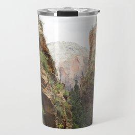 Angels Landing at Zion National Park Travel Mug