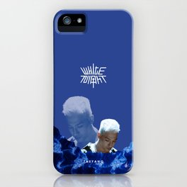White Night - Intro iPhone Case