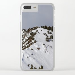 Majestic Mountain Clear iPhone Case