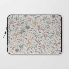 Country Flowers - Peach Blossom Laptop Sleeve