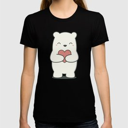 Kawaii Cute Polar Bear T-shirt