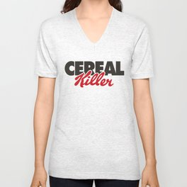 Cereal Killer Unisex V-Neck