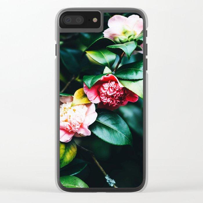 Floral Etudes Clear iPhone Case