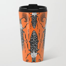 Absinthe Beetle crimson Travel Mug