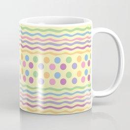Polka dots and stripes Coffee Mug