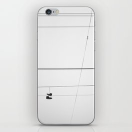 On a Wire iPhone Skin