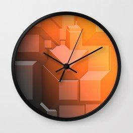 Poly Fun 3C Wall Clock