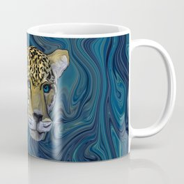 Leopard with the Sky in His Eyes Coffee Mug