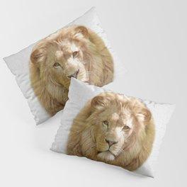 Lion - Colorful Pillow Sham
