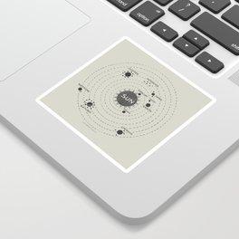 Where's Pluto? Sticker