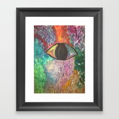 bad luck Framed Art Print