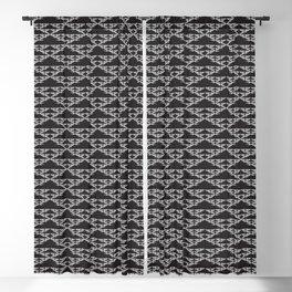 Serpinski's 4d Square Sacred Geometry Pattern Blackout Curtain
