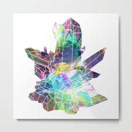 Quartz crystals 3 Metal Print