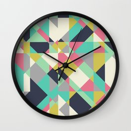 Go-Go London Powdery Wall Clock