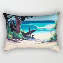 Ehukai Afternoon Rectangular Pillow