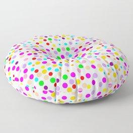 Colorful Rain 15 Floor Pillow