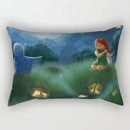 Midnight Serenade Rectangular Pillow