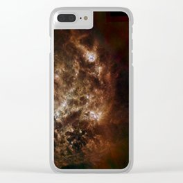 Large Magellanic Cloud, infared Clear iPhone Case