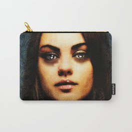 Portrait of Mila Kunis #1 Carry-All Pouch