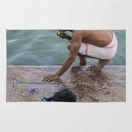Holi Varanasi Rug