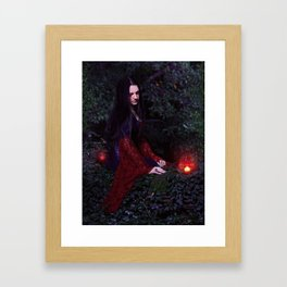 """Melancholy""  Framed Art Print"