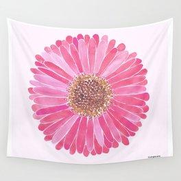 Light Pink Daisy Wall Tapestry