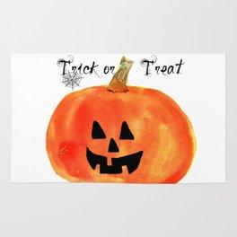 Trick or Treat Jack-O-Lantern, Halloween Pumpkin Rug