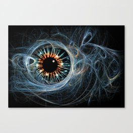 Abstrct dandelion seed head. Canvas Print