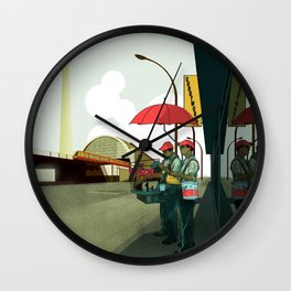 Alexander Platz II Wall Clock