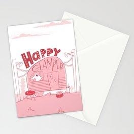 Happy Glamper Stationery Cards