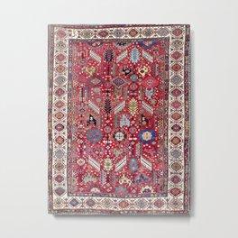 Shekarlu Qashqa'i Fars Southwest Persian Carpet Print Metal Print