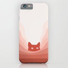 Cat Landscape 78 iPhone Case