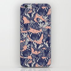 butterfly pale coral iPhone & iPod Skin