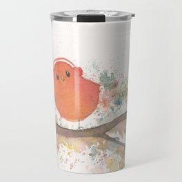 Birds in Music Travel Mug